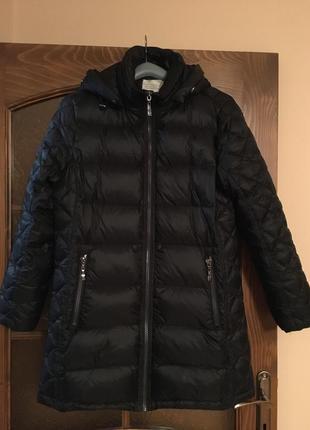 Зимний пуховик с капюшоном danwear 40