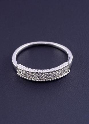 Кольцо 'xuping' фианит (родий) 0877070