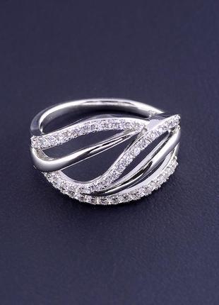 Кольцо 'xuping' фианит (родий) 0876770