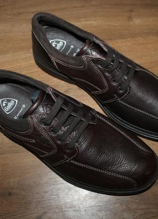 Водонепроницаемые кожаные ботинки gallus tex