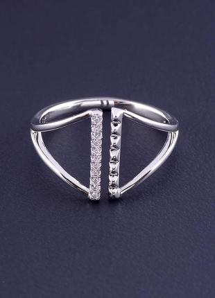 Кольцо 'xuping' фианит (родий) 0876780