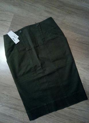 Юбка lacoste, юбка-карандаш, коттоновая юбка, юбка