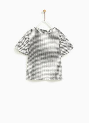 Блузка футболка zara