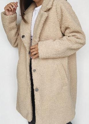 Шуба-пальто барашка