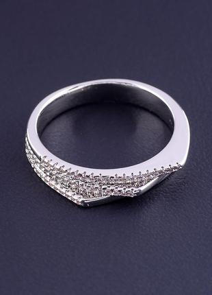 Кольцо 'xuping' фианит (родий) 0876850