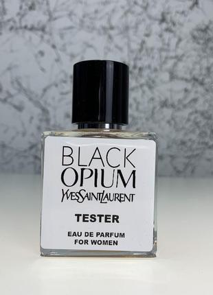 Yves saint laurent black opium edp 50 ml. женский (tester)
