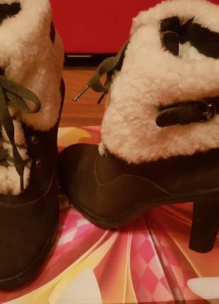 Ботильоны, ботинки зимние