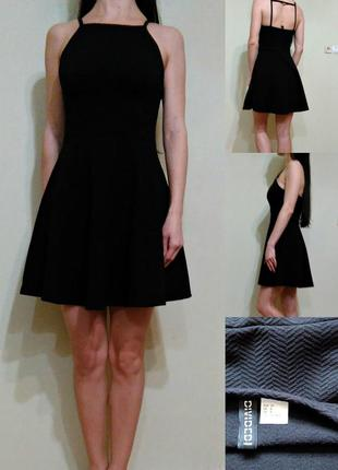 Платье - трикотаж средней плотности s-m
