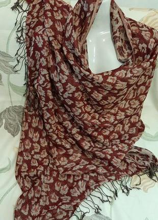 Шикарный шарф .