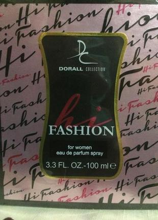 Парфюмерия hi fashion, 100ml