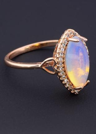 Кольцо 'pataya' лунный камень (позолота 18к) 0597530