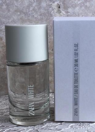 Духи zara white 30мл/парфюм/туалетная вода/парфуми/туалетна вода
