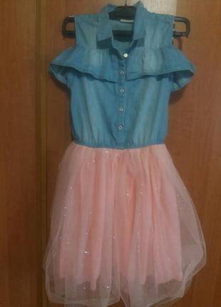 Крутое платье на девочку