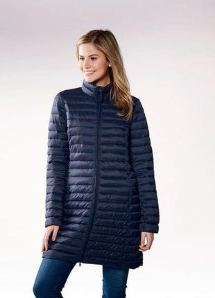 Ультралегкое стеганное термо пальто,не пускает воду esmara размер евро 42, новое