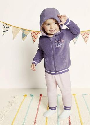 Новий костюм костюмчик лупілу для дівчинки 1-2 роки, розмір 86/92