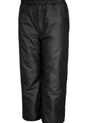 Черные спортивные штаны большого размера/штаны на высокий рост