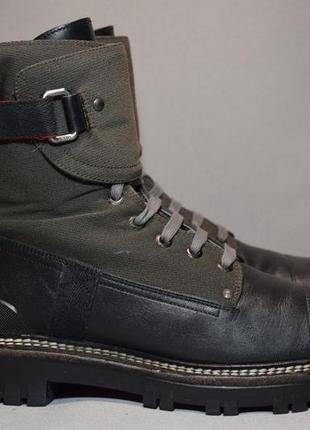 Ботинки prada женские кожаные. италия. оригинал. 38-39 р./25.8 см.