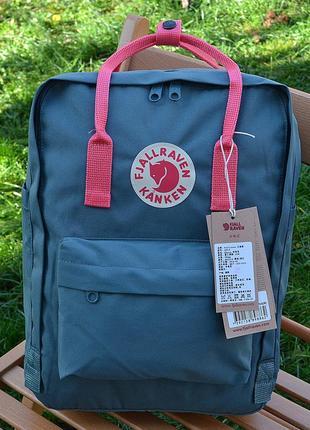 Рюкзак сумка канкен kanken fjallraven classic 16l топ качество
