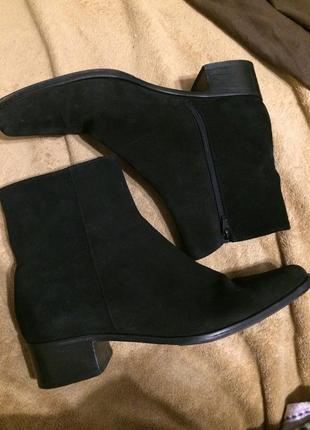 Isa замшевые ботинки