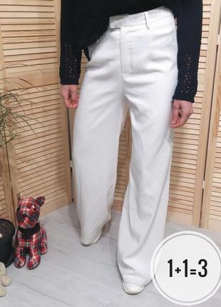 Prettylittlething палаццо s брюки на талию широкие штаны клеш свободные кюлоты базовые