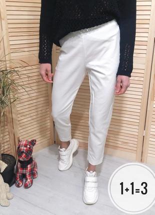 F&f базовые укороченные брюки m классика штаны узкие зауженные тренд короткие капри