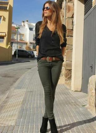 Новые плотные джинсы скинни xs-s