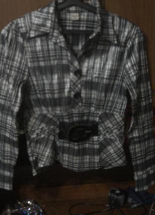 Блуза с люриксовой нитью