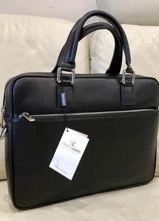 Шкіряна сумка портфель сумка из натуральной кожи италия сумка под ноутбук документы