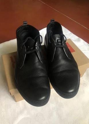 Туфли кожаные демисезонные respect
