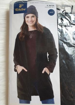 Tchibo пальто трикотажное мягкое 36/38 р.