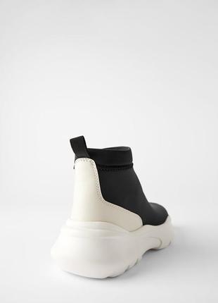Zara ботинки трикотажные2 фото