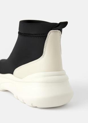 Zara ботинки трикотажные3 фото