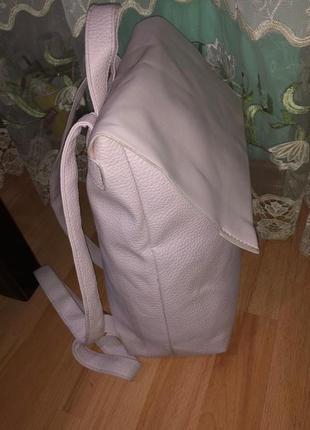 Шикарный рюкзак цвет пудра