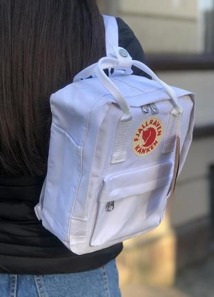 Рюкзак fjallraven kanken mini white