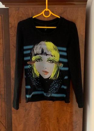 Брендовая кофта джемпер пуловер divided