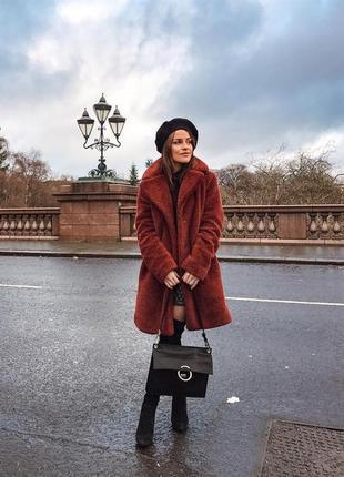 Стильное пальто - шуба от esmara by heidi klum, германия.