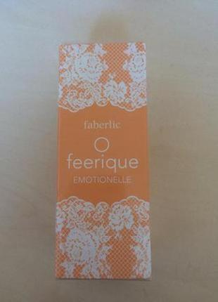 Парфюмерная вода для женщин o feerique emotionelle от faberlic