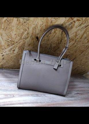 Женская классическая офисная сумка david jones cm3922t d.pink (бежевая)