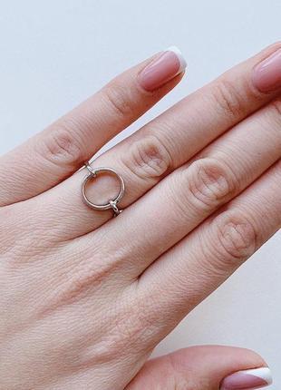 Хит! круглое ювелирное кольцо под любой образ