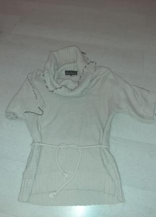 Кофта свитер короткий рукав