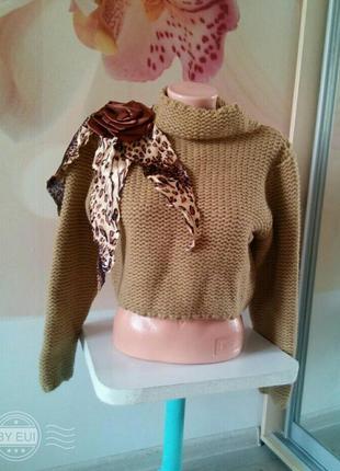 Фирменный свитер. свитшот. пуловер.италия. morgan tricot.