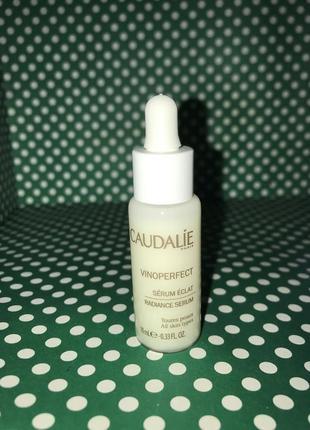 Caudalie сыворотка для сияния кожи vinoperfect radiance serum