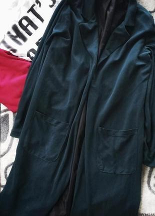 Длинный пиджак кардиган