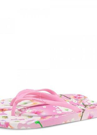Женские вьетнамки sacura. розовые.