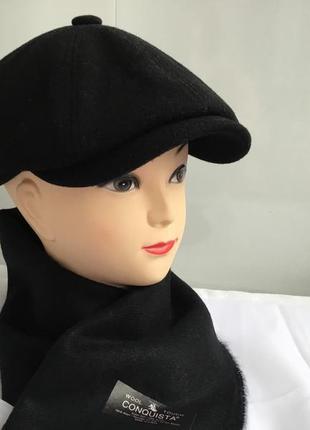 Шарфик мужской шарф чёрный новый корея