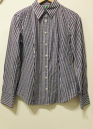 Рубашка united colors of benetton #255. -50% на весь товар до 14.02.2020