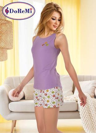 Піжама/пижама майка/футболка/шорты