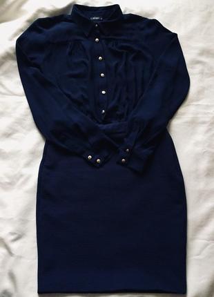 Винтажно-шифоновое платье ✔️