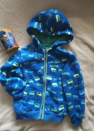 Флісова кофта куртка