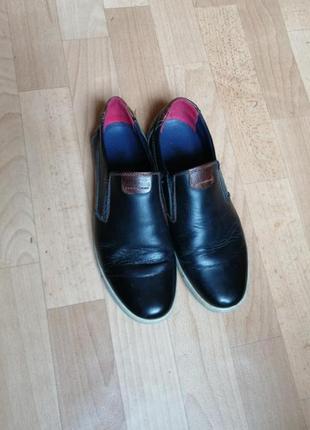 Туфли мокасины, р 40
